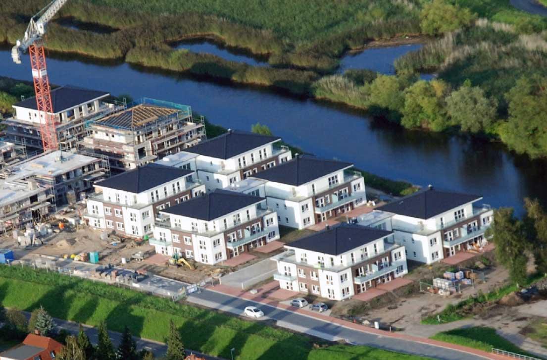 Luftaufnahme-vom-alten-Hafen-in-Buxtehude