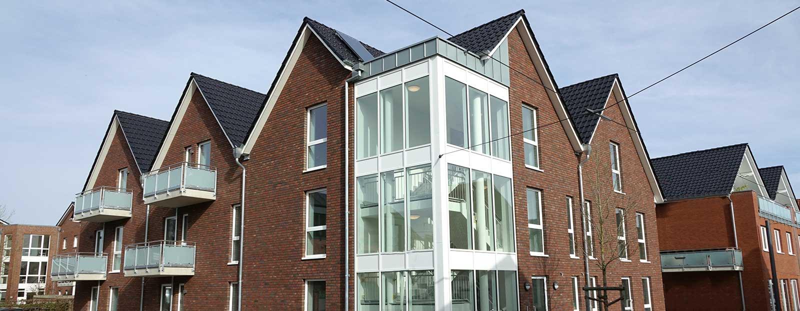 Mehrfamilienhaus in der Langen Straße in Horneburg